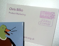 Chris Bilko CLIC Sargent Business Card